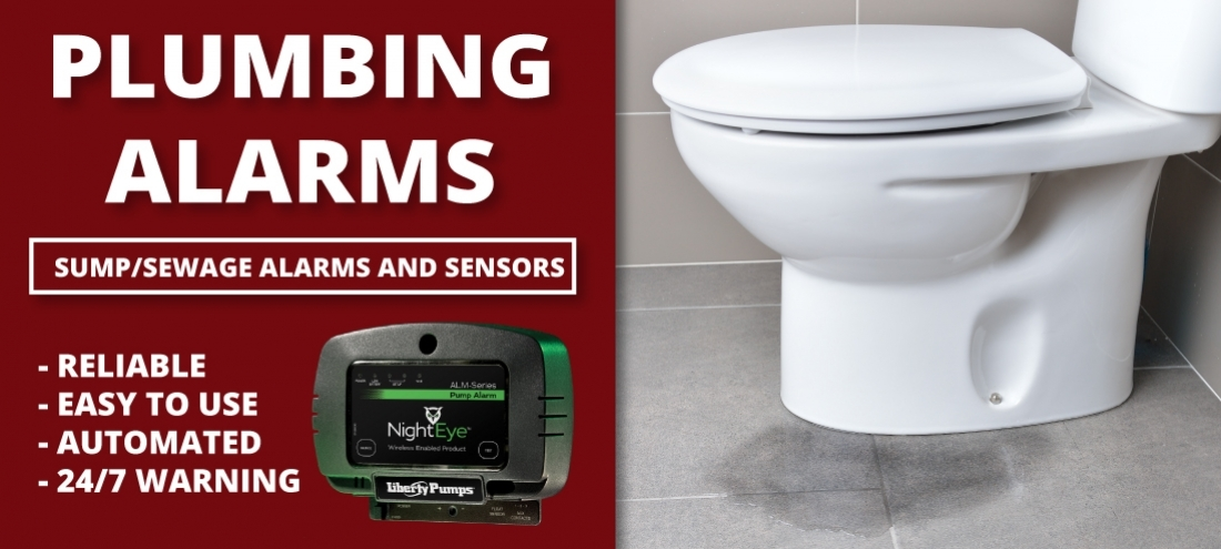 Sump and Sewage Alarms and Sensors Gravenhurst Plumbing